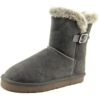 Style & Co Tiny 2 Women Round Toe Suede Gray Winter Boot