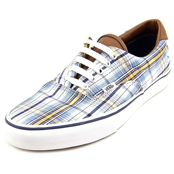 Vans Era 59 Women  Round Toe Canvas Blue Skate Shoe