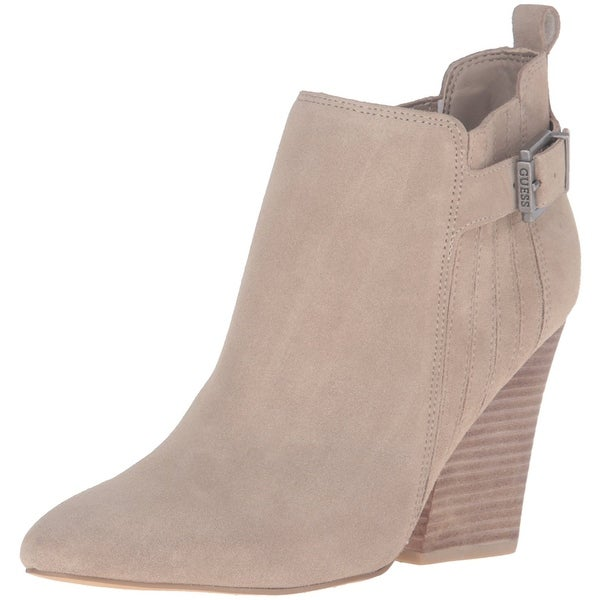 GUESS Womens Nicolo Closed Toe Ankle Fashion Boots
