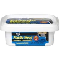 Dap 08135 Natural Latex Carpenter's Wood Filler, 8 oz, Plastic