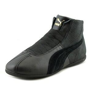 Puma Eskiva Mid Remaster Women Round Toe Synthetic Black Sneakers