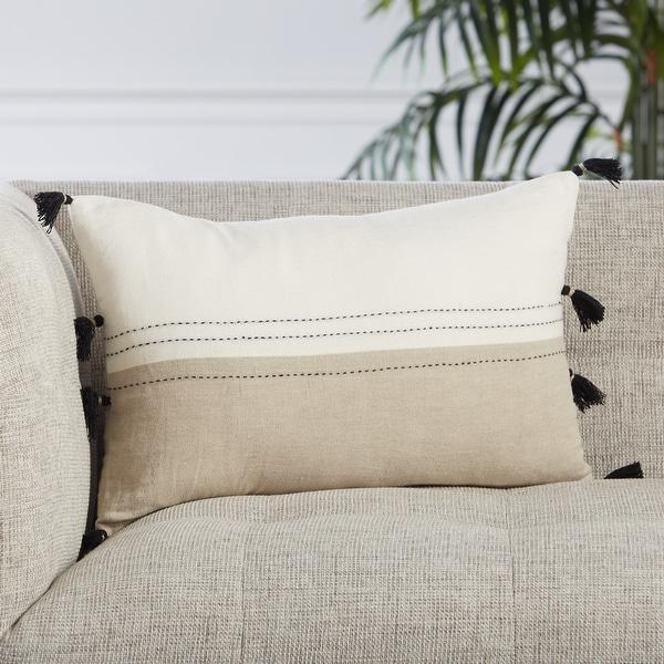 Esha Stripes Lumbar Pillow. Opens flyout.