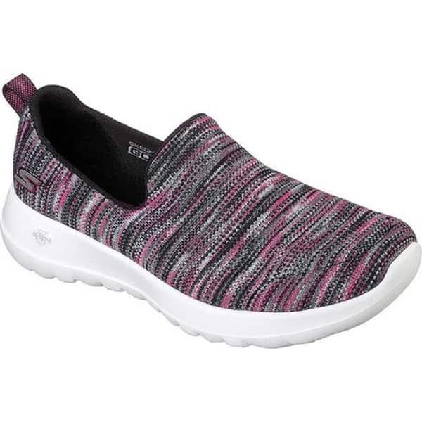f02303a3d57d Shop Skechers Women's GOwalk Joy -Terrific Black/Pink - Free ...