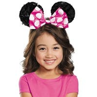 Pink Minnie Mouse Sequin Ears Child Costume Accessory