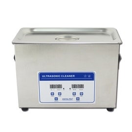 4.5L Professional Digital Ultrasonic Cleaner Machine with Timer Heated Stainless steel Cleaning tank 110V/220V