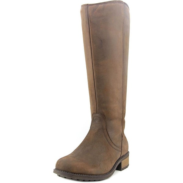 ef9a9da8034 Shop Ugg Australia Seldon Women Round Toe Leather Brown Knee High ...