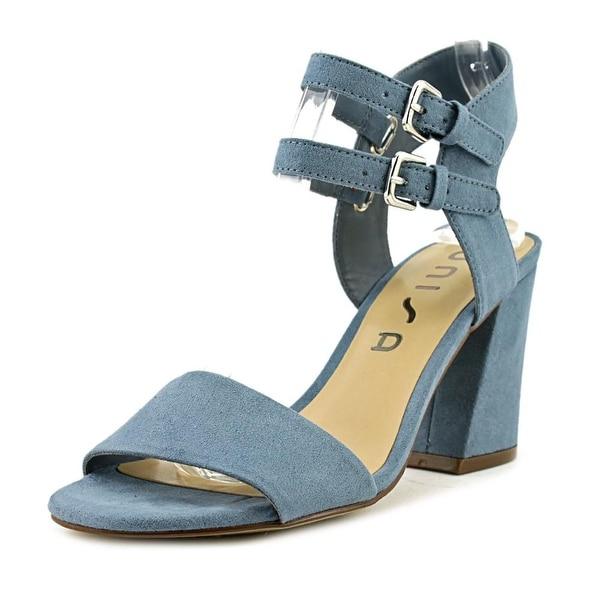 Unisa Reiaa Women Open-Toe Canvas Blue Heels