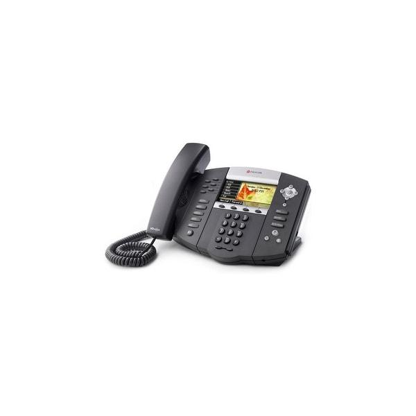 Refurbished Polycom SoundPoint IP 670 (2200-12670-025) SoundPoint IP 670 6-Line IP Phone (POE)