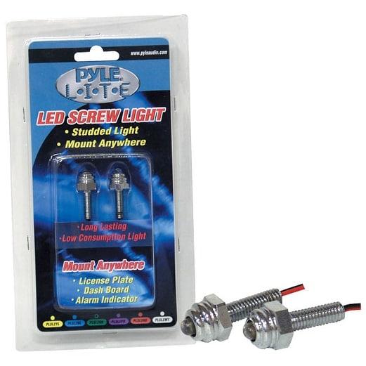 Pyle Lite Series Purple LED Screw Light