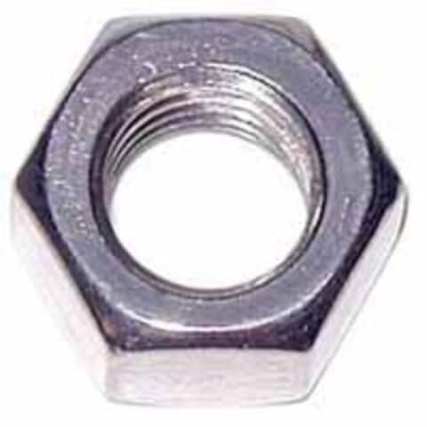Midwest 05272 Stainless Steel Hex Nut, 3/8""