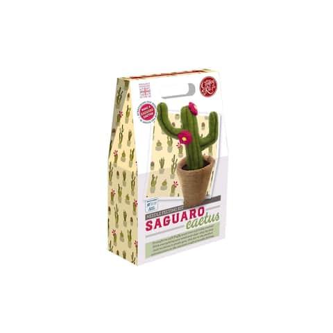 Crafty Kit Co Needle Felt Kit Saguaro Cactus
