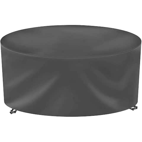 Patio Furniture Cover for Outdoor Round Table & Chairs Set