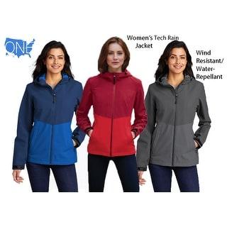 Link to Women's Tech Rain Jacket  Wind Resistant, Water Repellant Similar Items in Women's Outerwear
