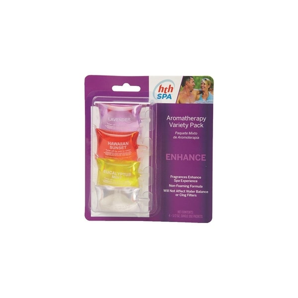 HTH 4Pk Hth Spa Fragrance