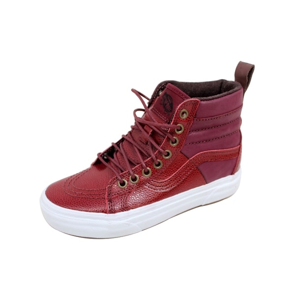 Vans Men's SK8-Hi 46 MTE Port Roy Pebble Leather VN0A2XS2JTR Size 4