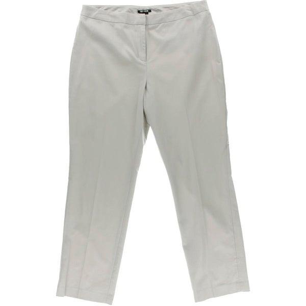 Nic + Zoe Womens Dress Pants Straight Leg Stretch