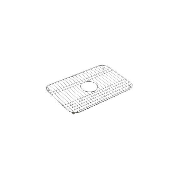Surprising Kohler K 6003 Single Bowl Stainless Steel Sink Rack For Mayfield Series Sinks Download Free Architecture Designs Philgrimeyleaguecom