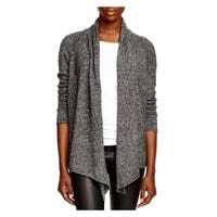Aqua Cashmere Womens Cardigan Sweater Cashmere Open Front