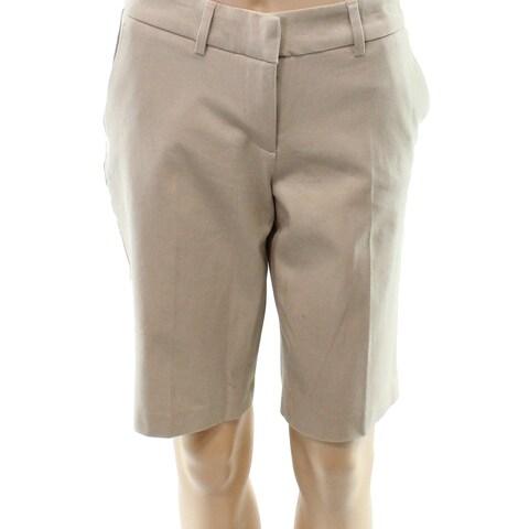 Halogen Women's Front Tab Bermuda Walking Shorts