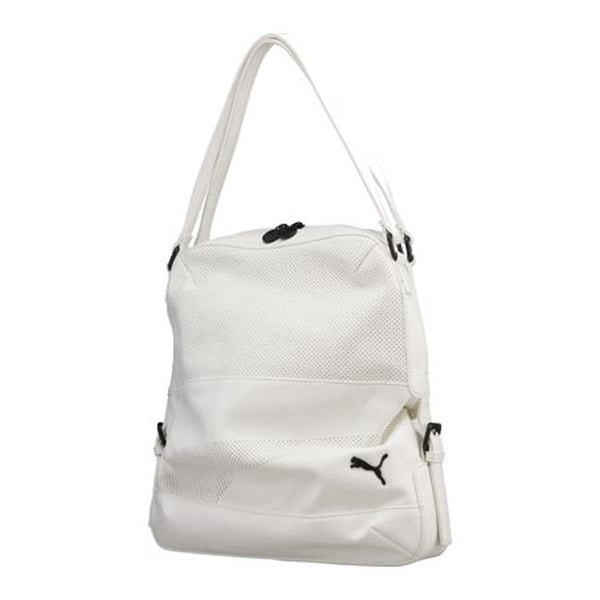 9727088f1df7 Shop PUMA Women s Remix Tote Bag White - US Women s One Size (Size None) -  Free Shipping Today - Overstock - 11818048