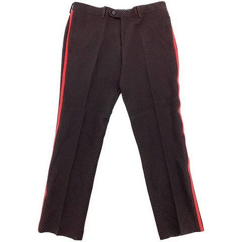 Tallia Mens Dot Dress Pants Slacks