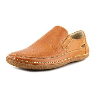 Stacy Adams Napa Men  Round Toe Leather Tan Loafer