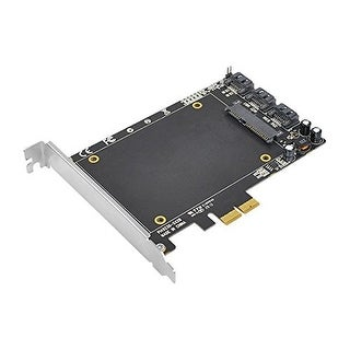 Siig Legacy And Beyond 3-Port Pci Express Sata 6 Gbps Raid Controller Adapter With Ssd Socket Hyperduo Marvell 88Se9230
