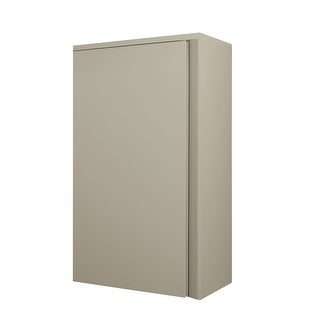 "Ronbow E027013-R Brit 33"" Wall Mounted Single Door Cabinet with Right Open Hinge - N/A"