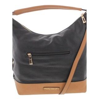 Kathy Ireland Womens Hobo Handbag Faux Leather Signature - MEDIUM