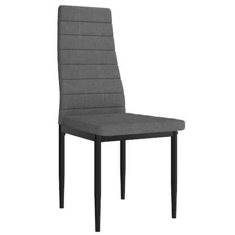 Set of 6 Upholstered Contemporary Chair