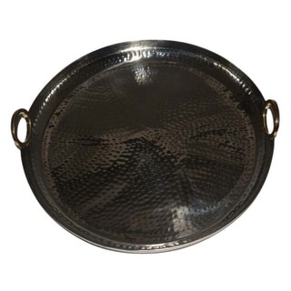 Link to Jiallo Hamilton Round Tray - Stainless Steel Similar Items in Serveware