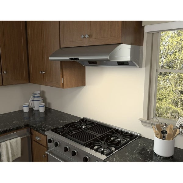 850 Cfm 48 Inch Wide Under Cabinet Range Hood From The Typhoon Series