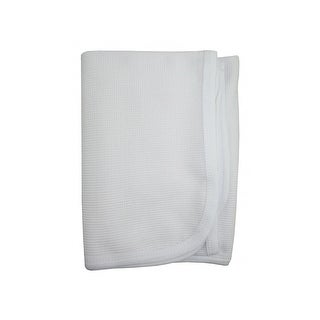 Bambini Baby's Solid Thermal Receiving Blanket - One size