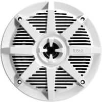 Boss Audio MR62W 2-Way Full-Range Marine Speakers, White - 6.5 in.
