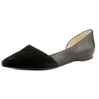 Cole Haan Hepworth Skimmer II Women Pointed Toe Suede Flats