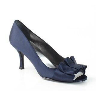 Stuart Weitzman NEW Blue Gigiritz Shoes Size 6N Open Toe Heels