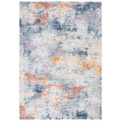 Safavieh Crystal Agathe Modern Abstract Distressed Rug