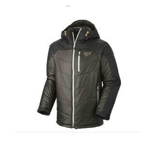 Mountain Hardwear Men's B' Layman Winter Jacket Down Fill Size XXL - charcoal