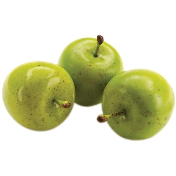 Design It Simple Decorative Fruit 15/Pkg-Mini Green Apples