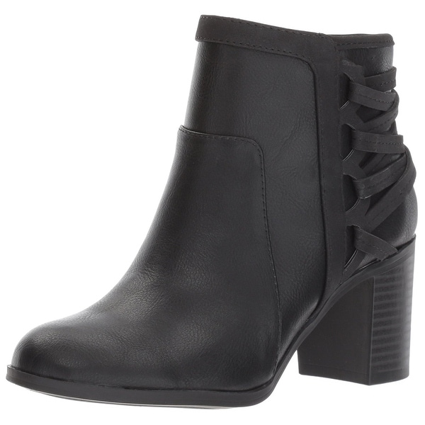 Easy Street Womens bellamy Closed Toe Ankle Fashion Boots