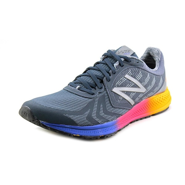 New Balance Mpace Men Round Toe Synthetic Gray Running Shoe