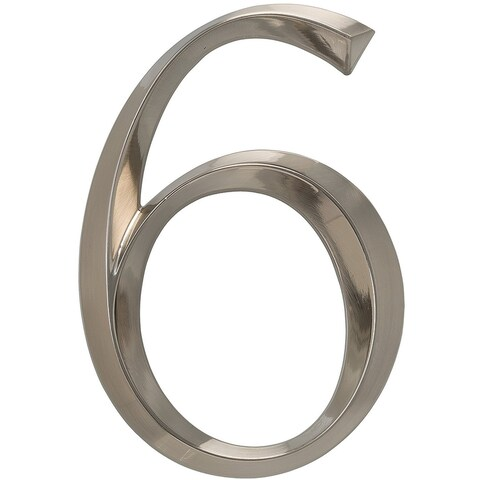 """Whitehall Classic 6"""" Polished Nickel Number 6"""
