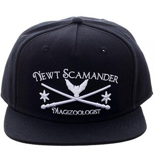 Fantastic Beasts and Where to Find Them Newt Scamander Magizoologist Snapback Hat - multi