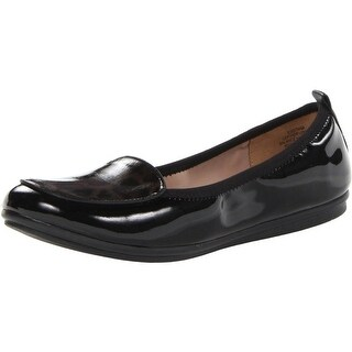 Easy Spirit Womens Gitana Patent Leather Loafers - 7.5 medium (b,m)