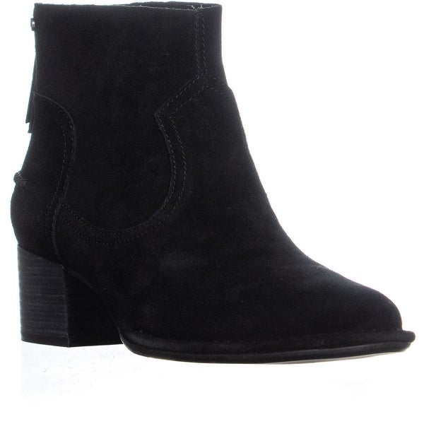 e1adce95f1a Shop UGG Bandara Back Zip High Ankle Boots, Black - Free Shipping ...