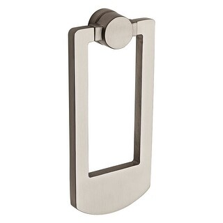 Baldwin BR7002 Solid Brass Contemporary Door Knocker from the Reserve Collection