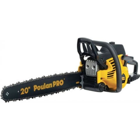 Poulan Pro PR5020-967061501 Gas Chainsaw with 2-Cycle Engine, 50cc, 20""