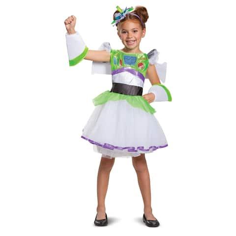 Girls Buzz Lightyear Tutu Toy Story Costume