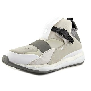 Alexander McQueen By Puma MCQ Cell Bubble Runner Mid Men White Sneakers