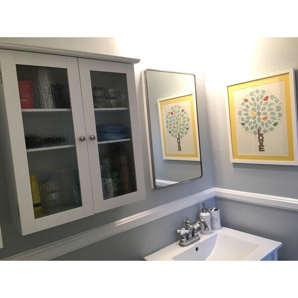 Best Glass Door Wall Cabinet Interior